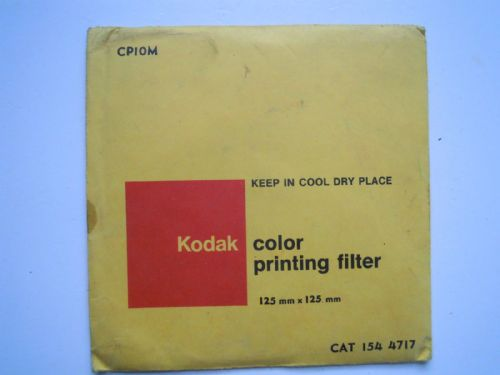KODAK COLOR PRINTING FILTER 125MMX125MM CP10M